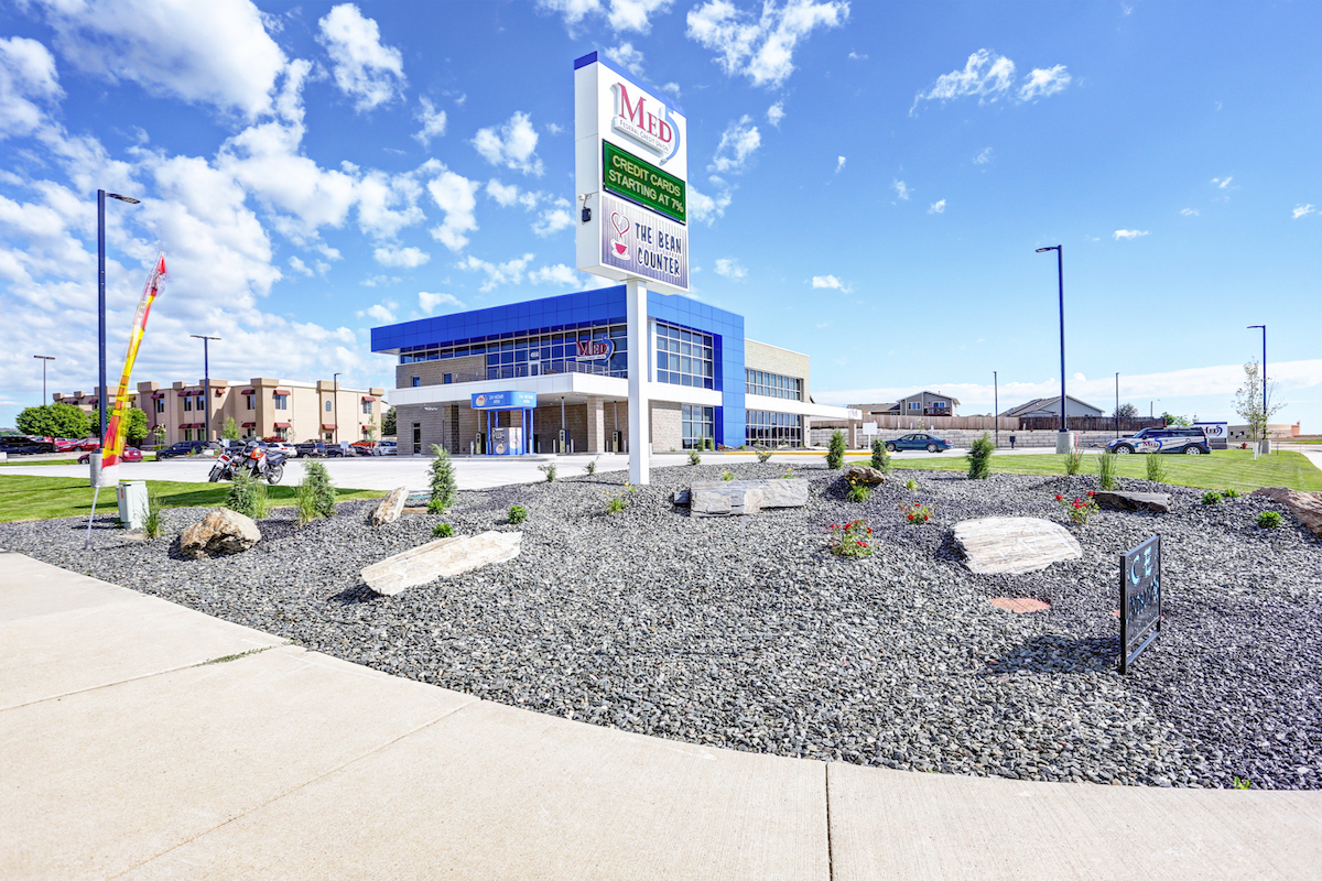 Exterior photo of Med5 Credit Union in Rapid City, South Dakota