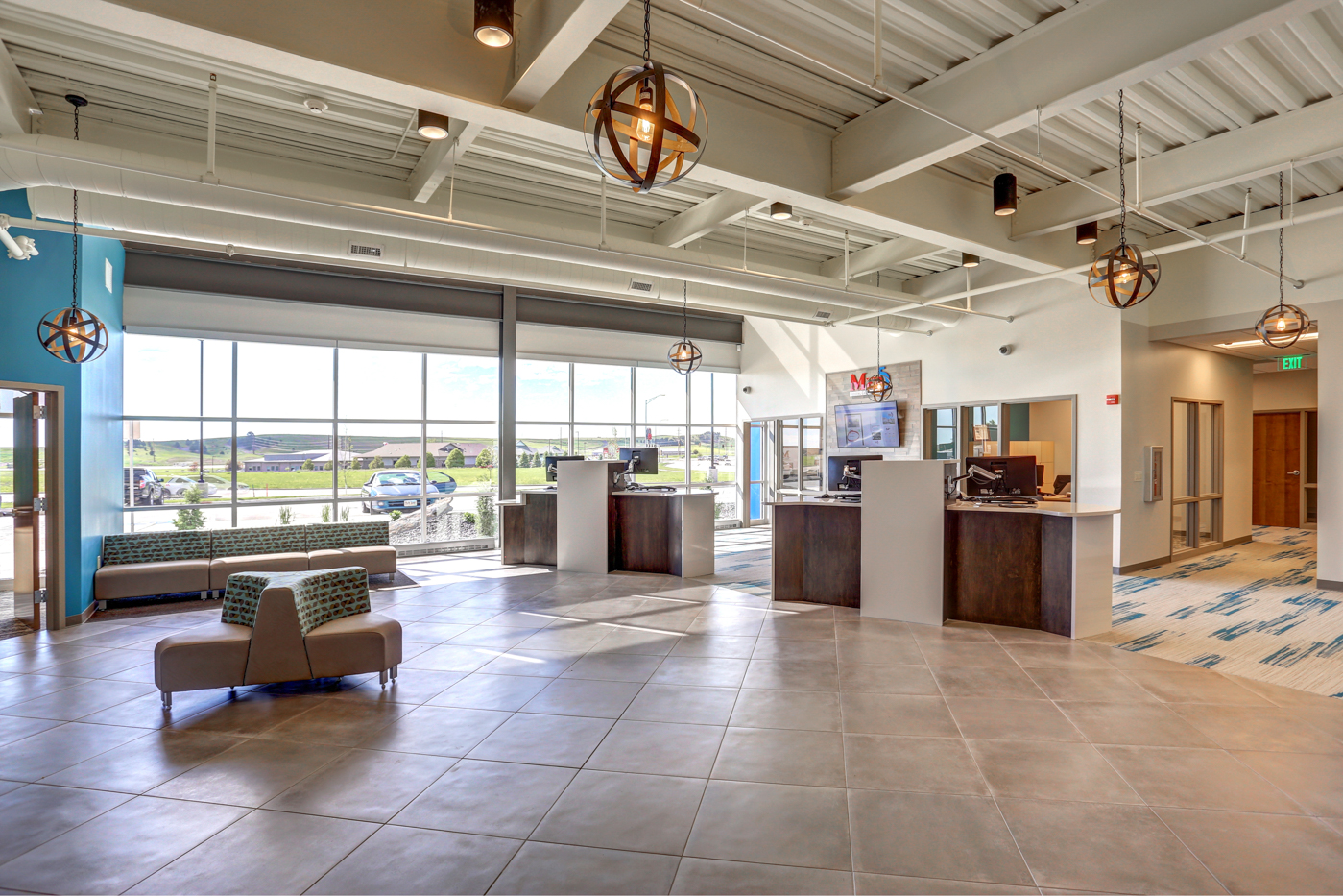 Med5 Credit Union's Lobby