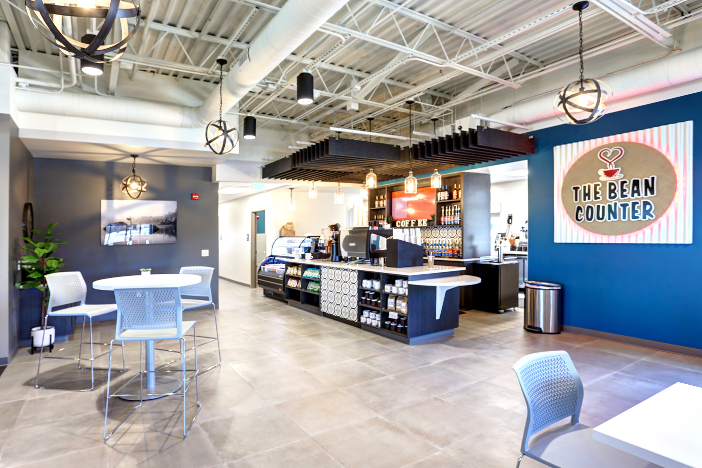 The Bean Counter, co-branded with Med5 Credit Union