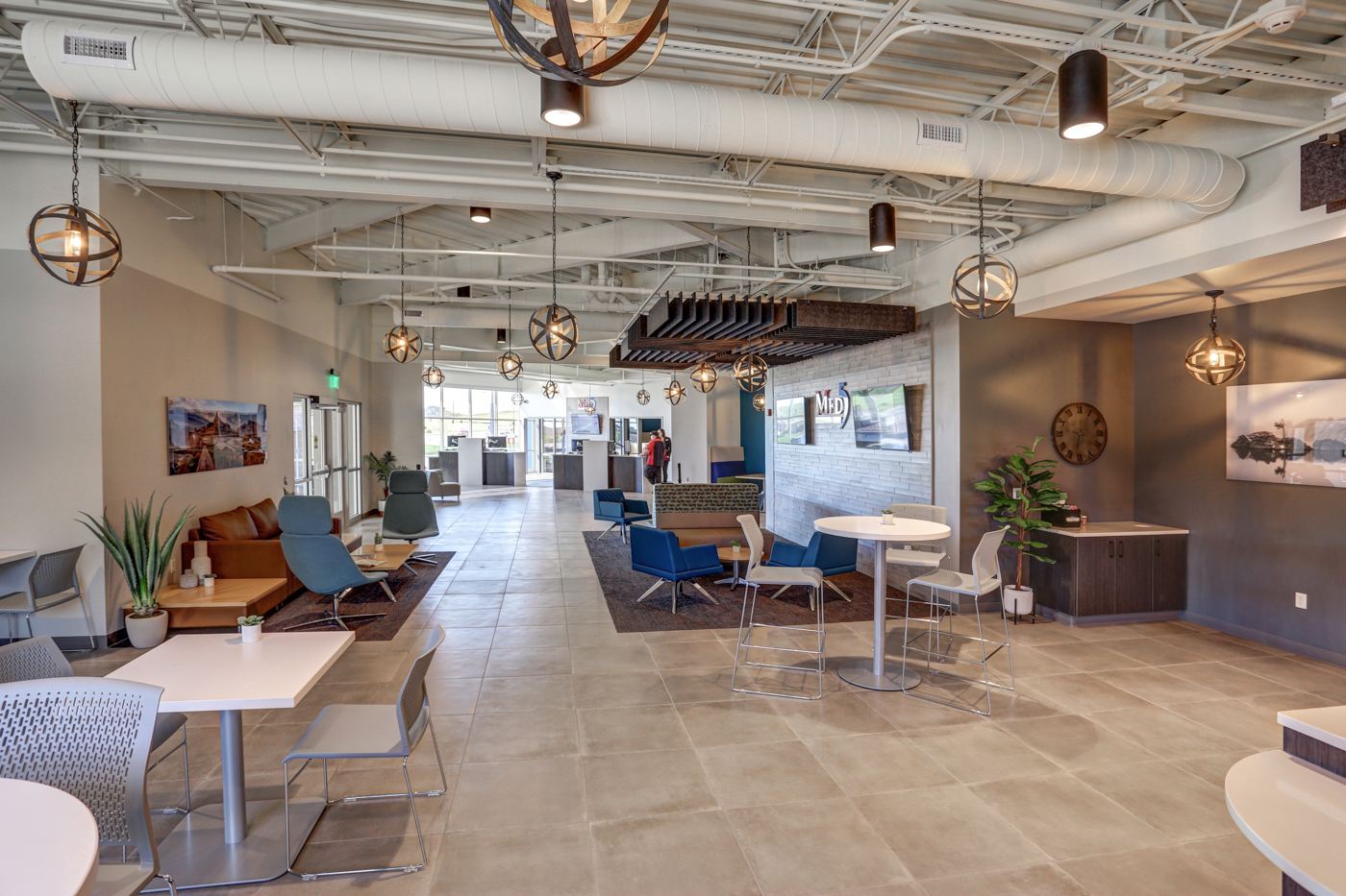 Med5 Credit Union Interior Space