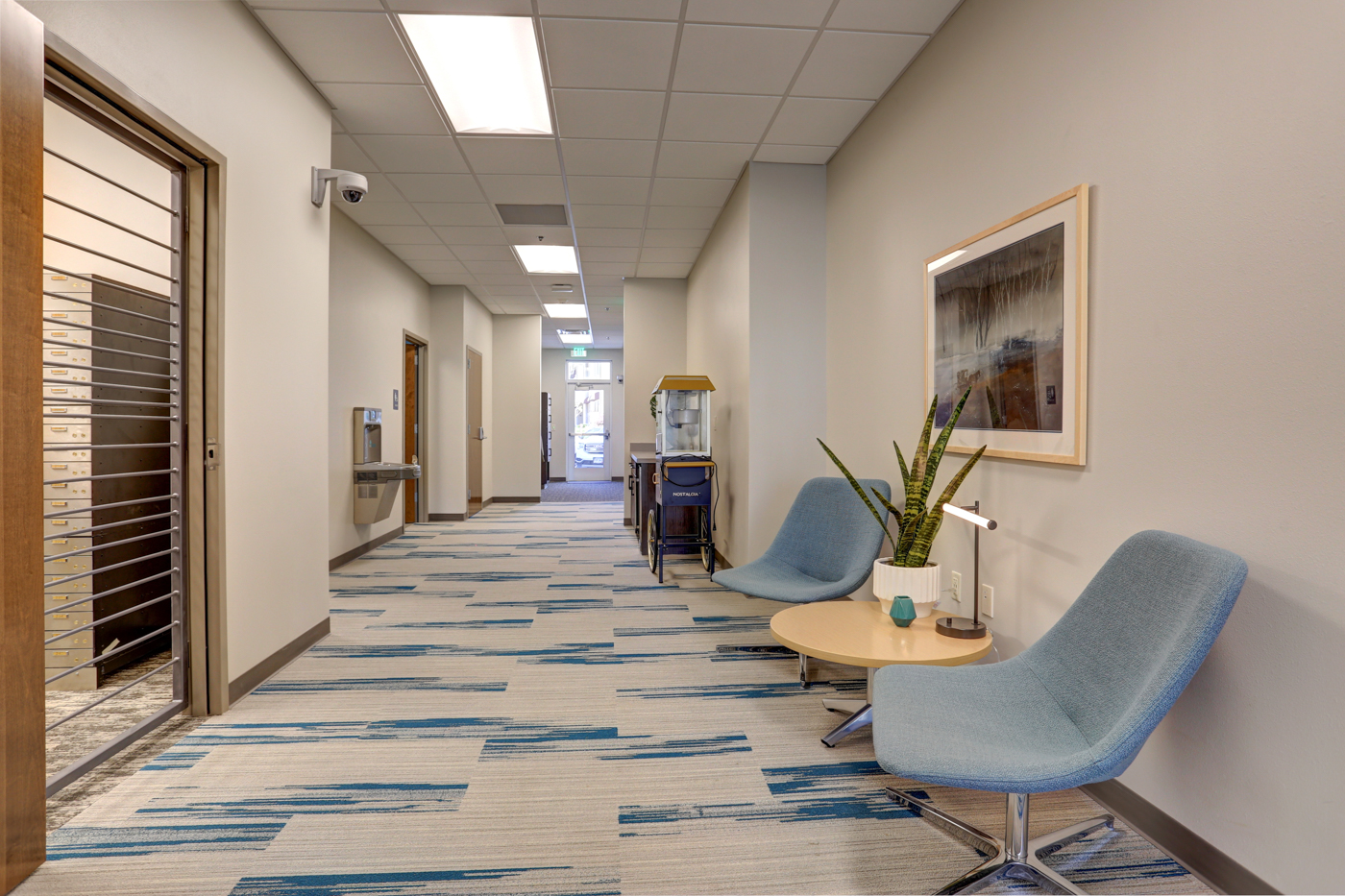 Med5 Credit Union's interior space
