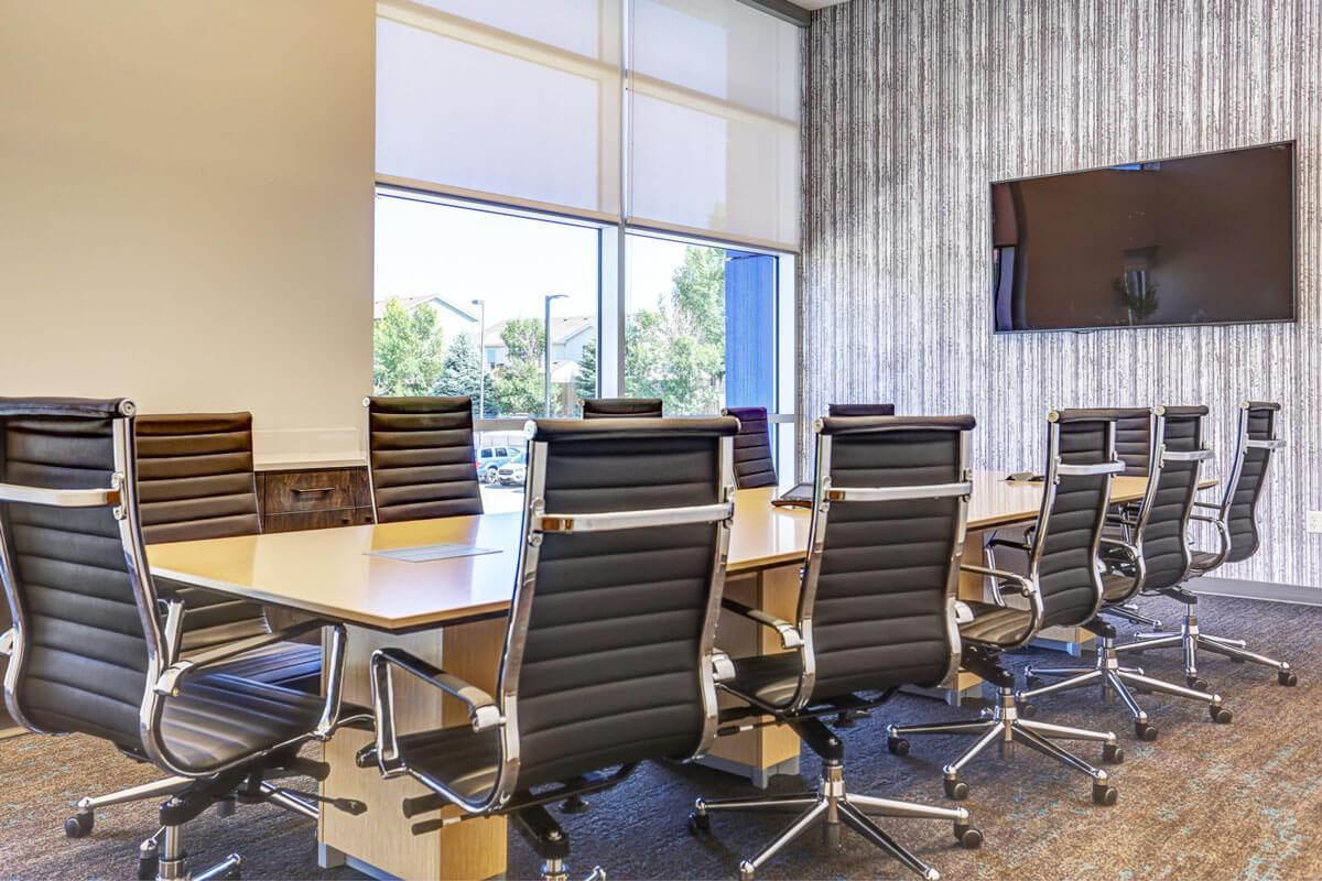 Med5 Credit Union Board Room