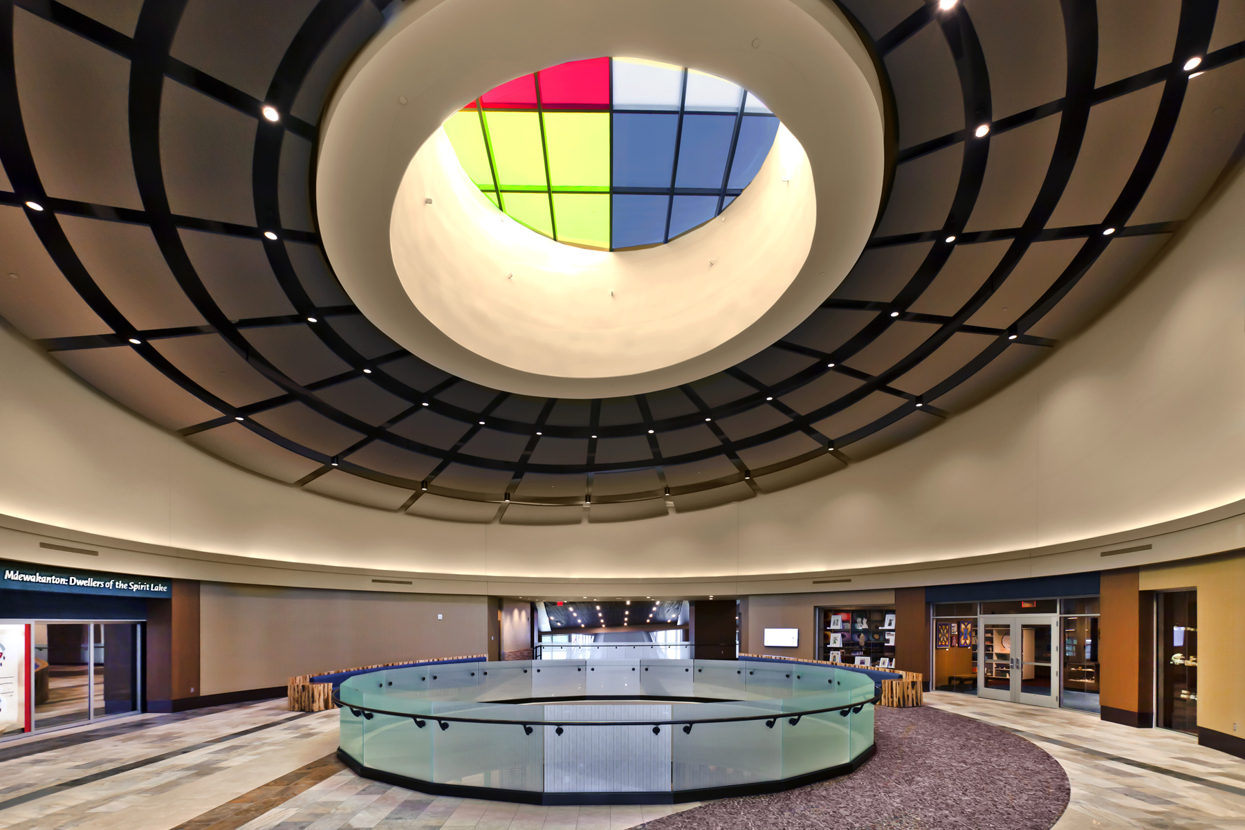 SMSC Cultural Center Interior Circles