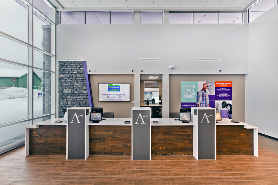 Affinity Plus Federal Credit Union, Grand Rapids MN - Teller Line