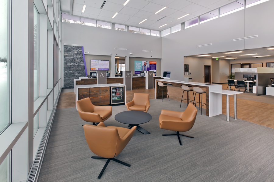 Affinity Plus Federal Credit Union, Grand Rapids MN - Lounge
