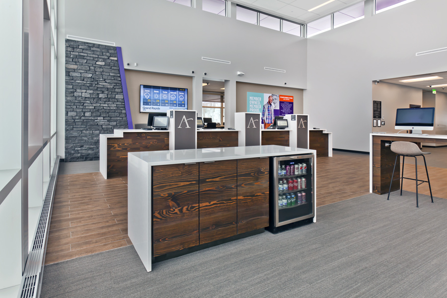 Affinity Plus Federal Credit Union, Grand Rapids MN - Lobby