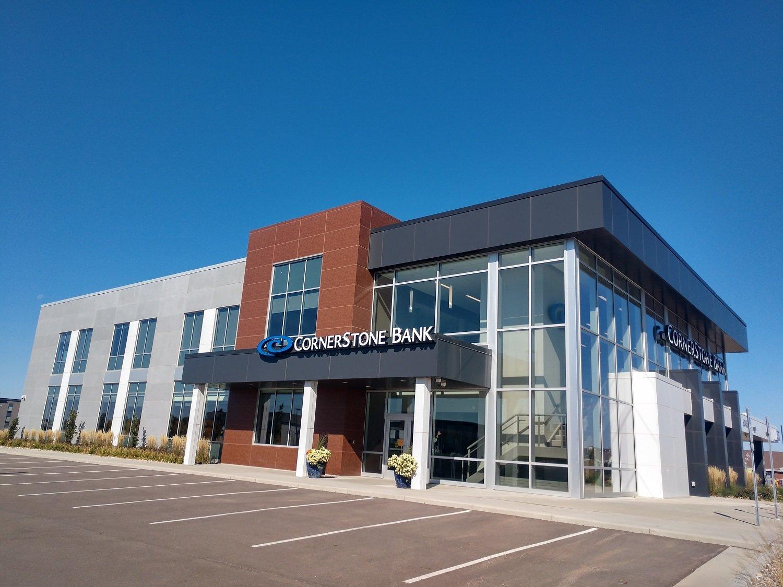 CornerStone Bank Entrance