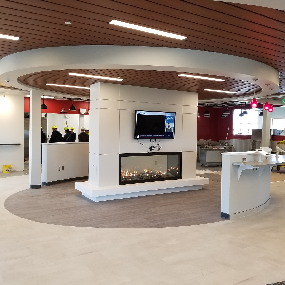 First Alliance Credit Union Lobby