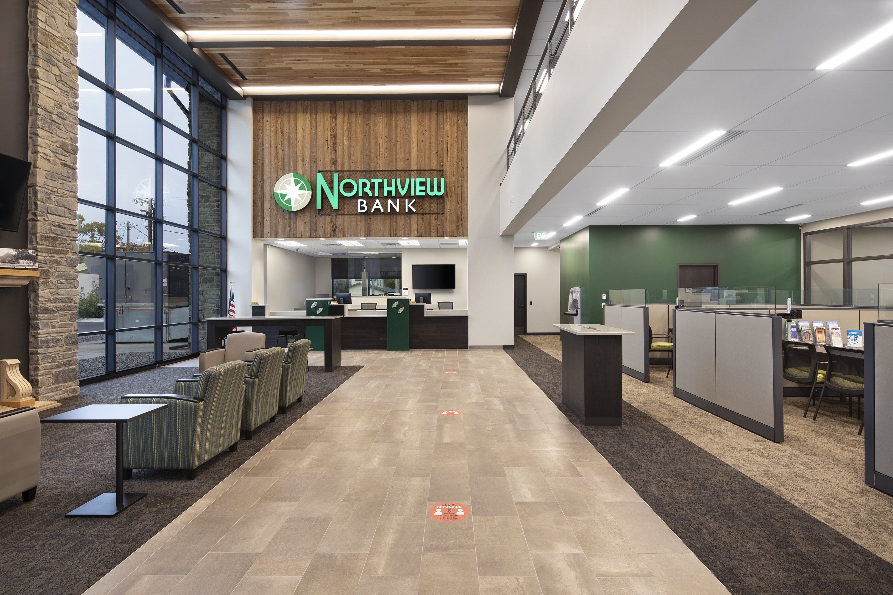 Northview Bank, Lobby