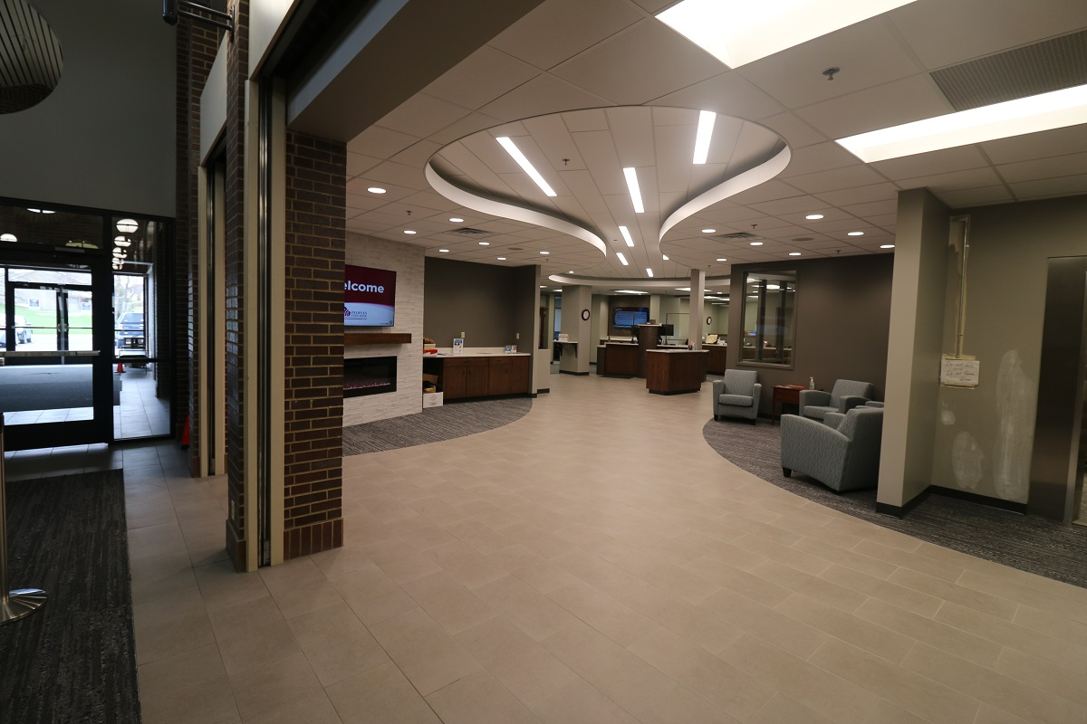 Peoples State Bank Lobby