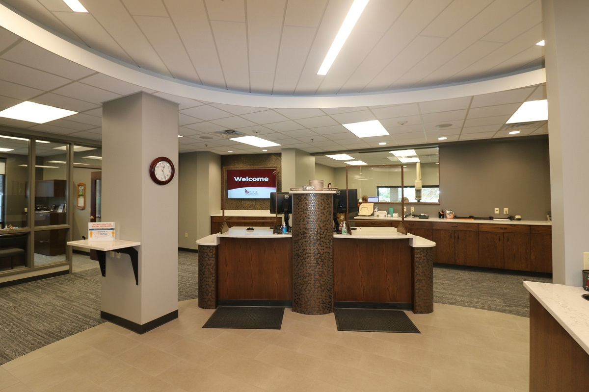 Peoples State Bank Teller Stations