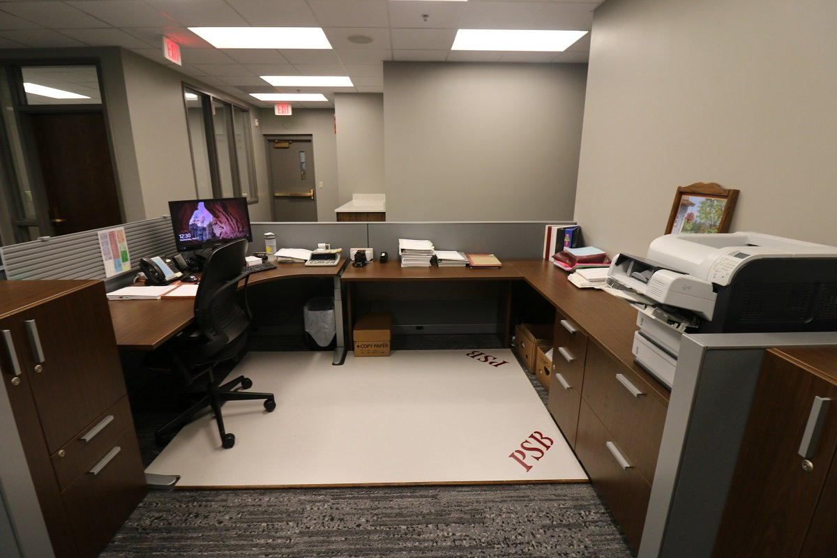 Peoples State Bank Work Area