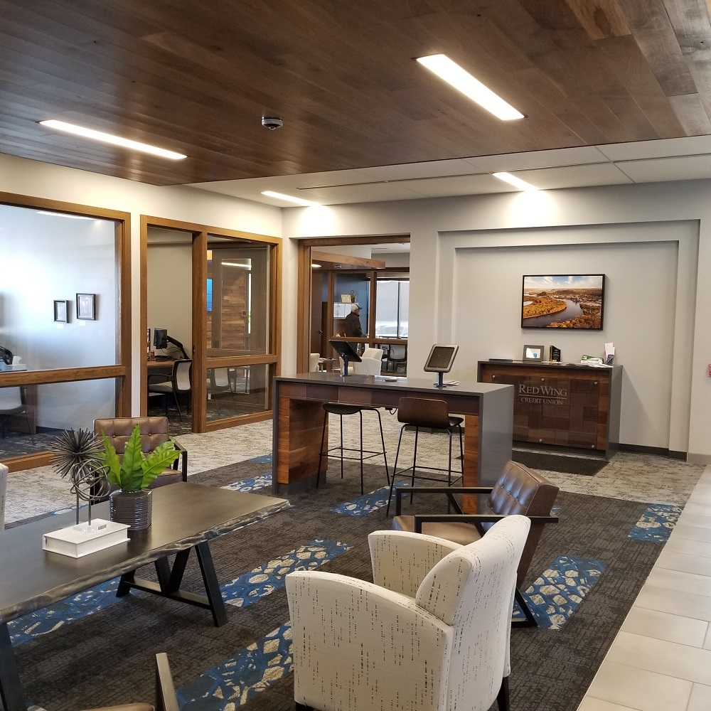 Red Wing Credit Union Lobby