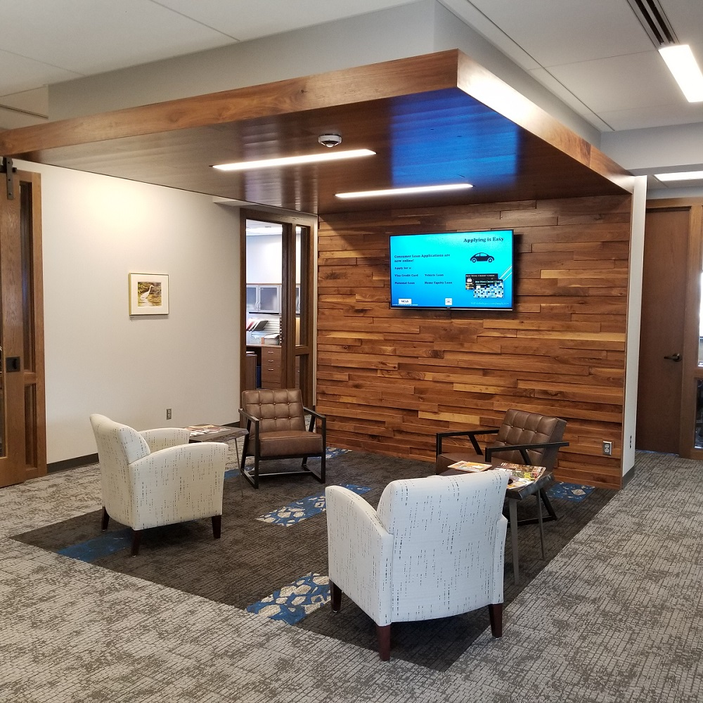Red Wing Credit Union Waiting Area