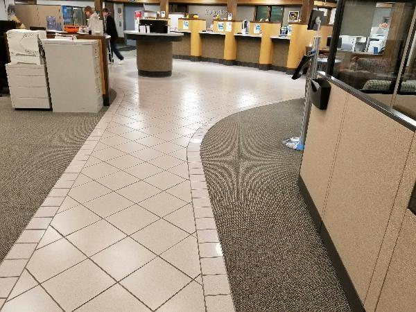 Round Bank Flooring