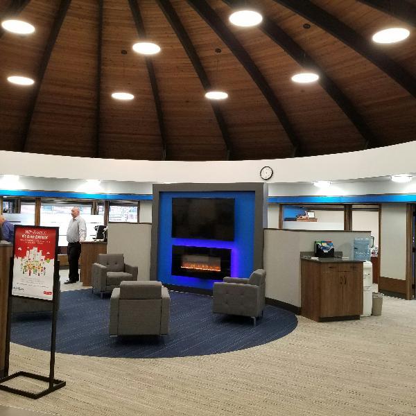 Round Bank Interior