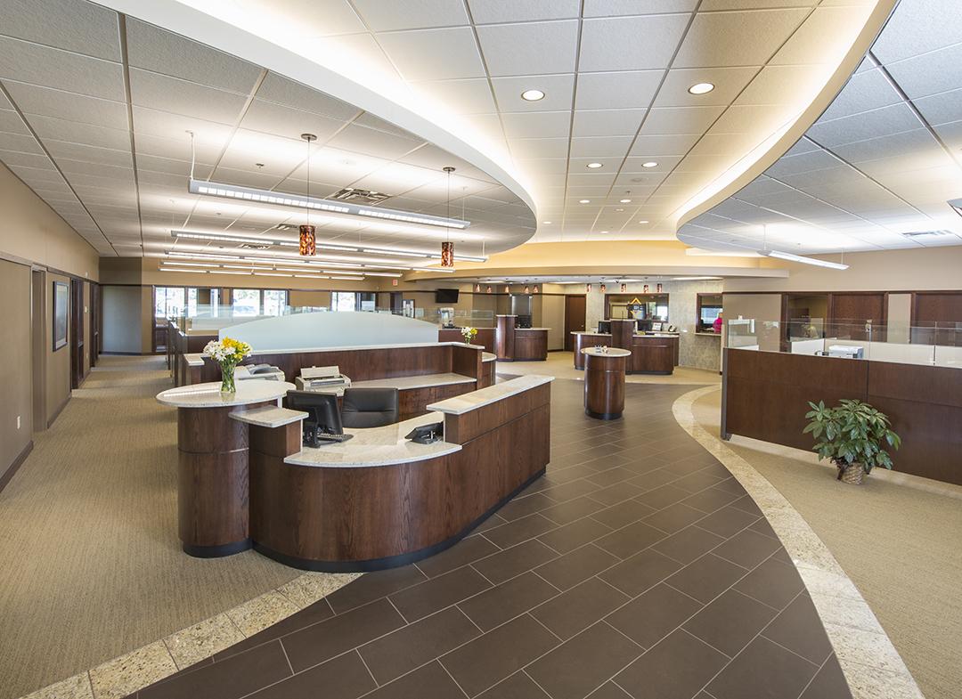 granite community bank interior